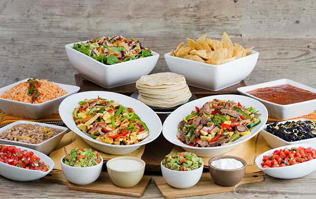 Catering sharky 39 s woodfired mexican grill for Food bar catering