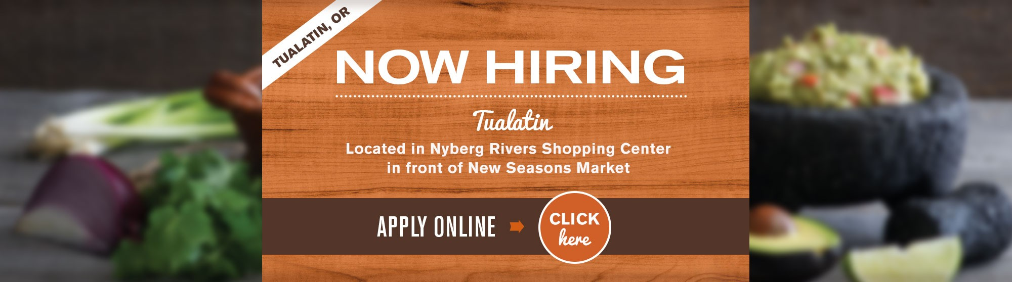 Tualatin Now Hiring All Positions