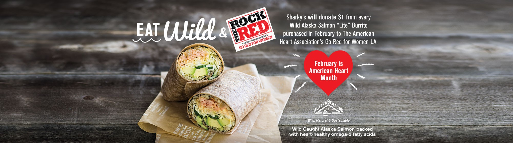 Eat Wild & Rock The Red