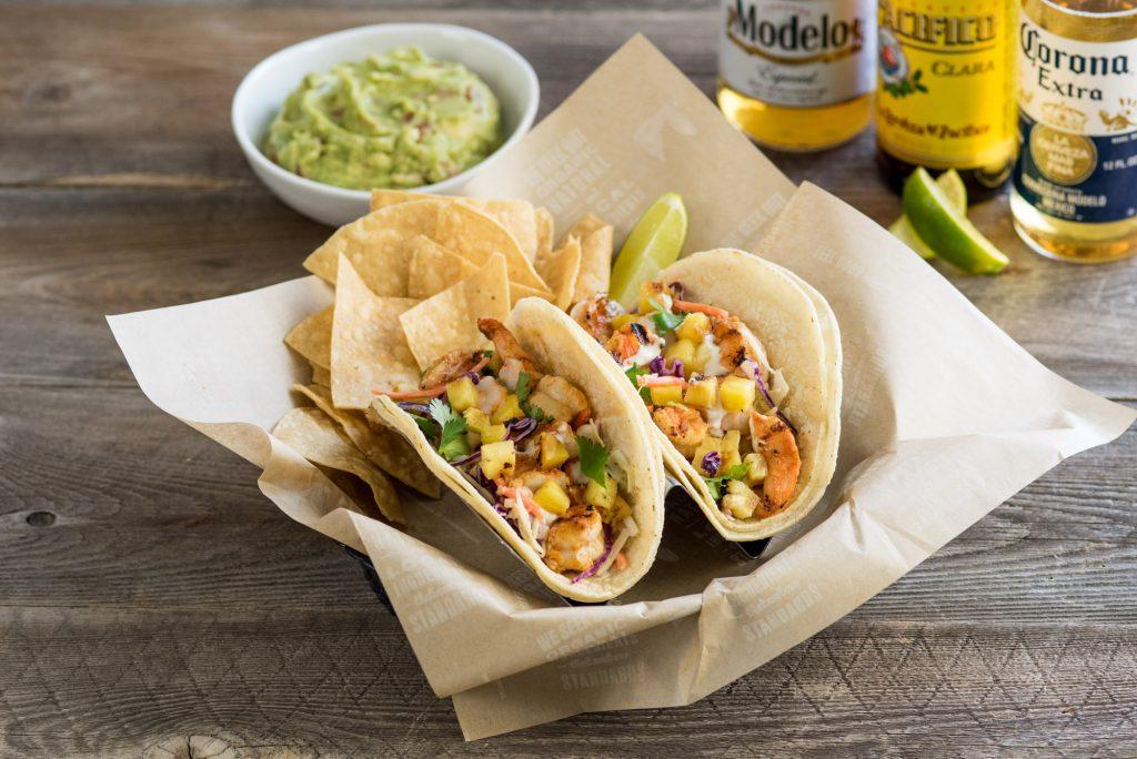The Roque Shrimp Tacos