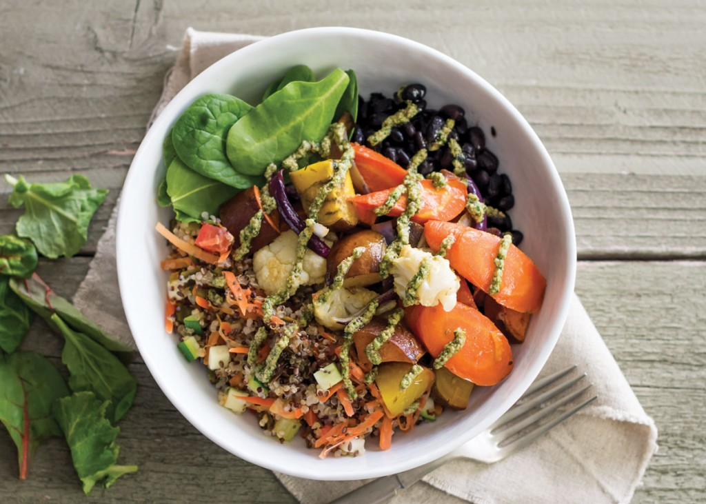 Roasted Veggie Bowl