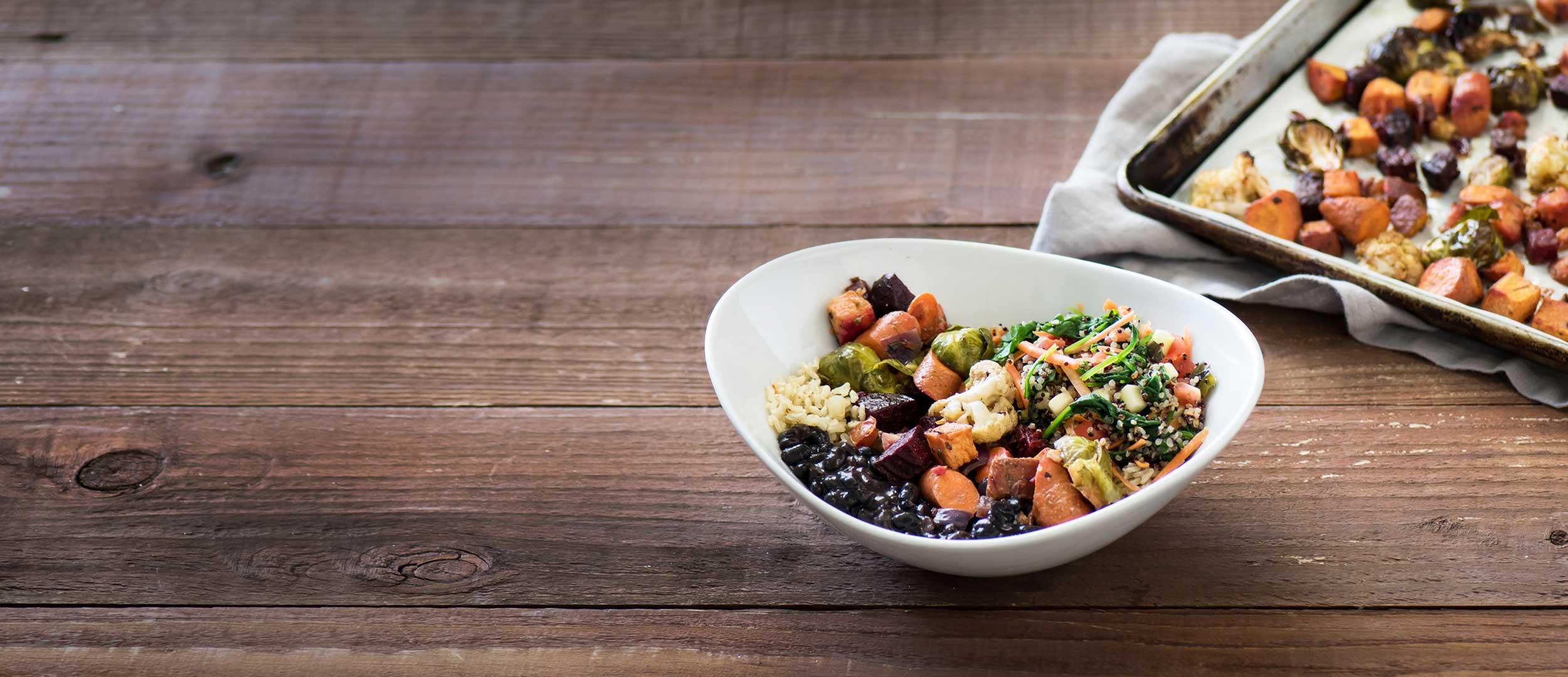 Organic Roasted Vegetable Bowl
