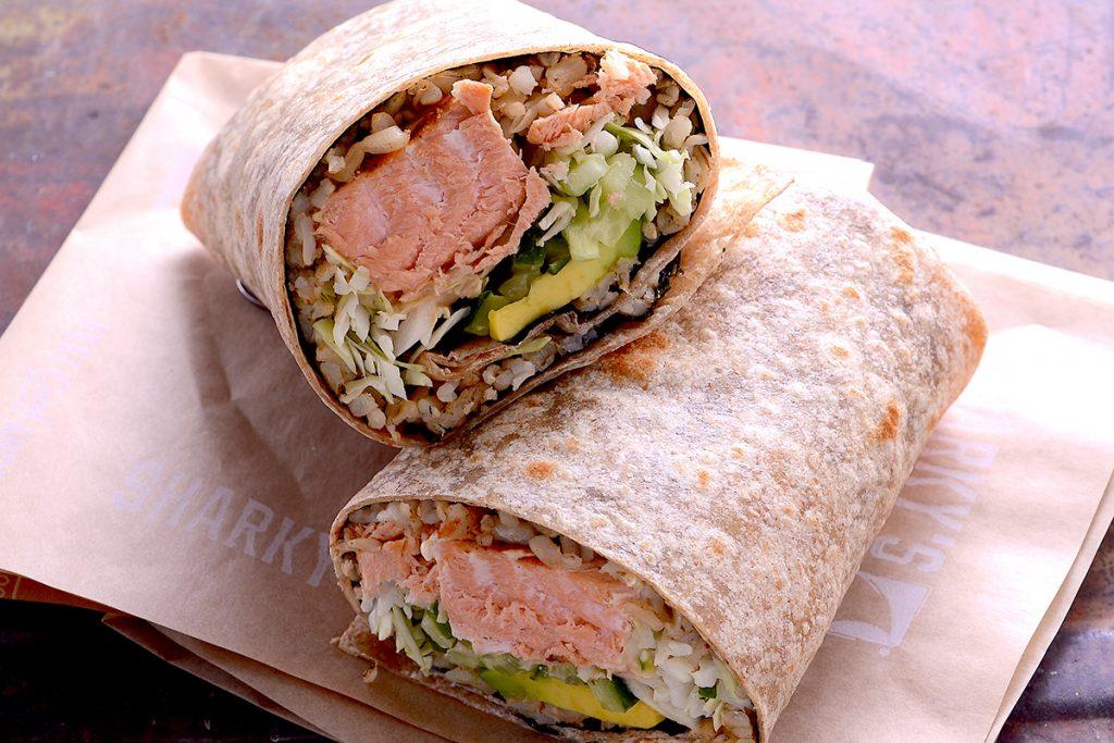 Wild Salmon Burrito
