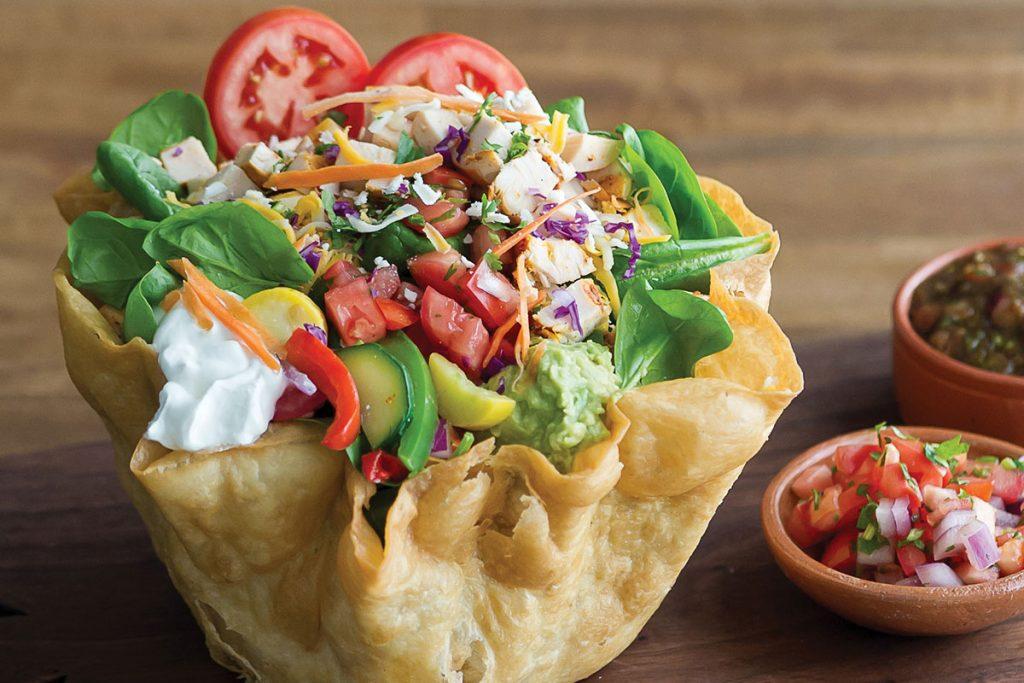 Sharky's Tostada Salad