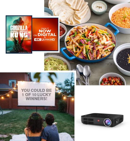 Summer Dinner & Movie Giveaway Grand Prize